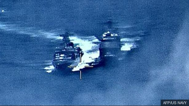 Vessel Collision Image 1